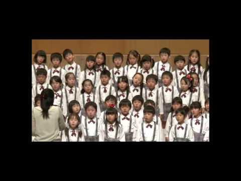 東京いずみ幼稚園 平成24年度 第22回 MS定期演奏会 歌唱5歳