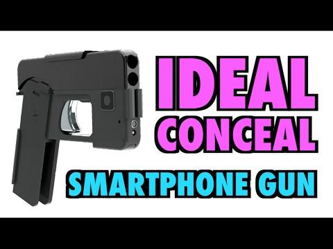 這支「iPhone式手槍」一開賣就已經賣翻天,接下來的日子大家走在街上都會怕死了…