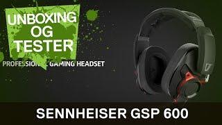 GSP 600 Pro Gaming Headset. Sennheiser viser muskler!