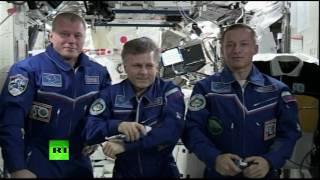 Патриарх Кирилл поздравил с Рождеством космонавтов МКС
