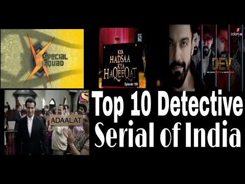 Top 10 Detective Shows of india || Part-2 || Detective serials|| Detective series|| Tv crime series