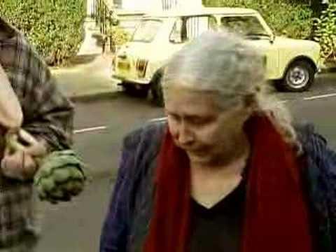 Doris Lessing Reacting To Her Nobel Prize Win