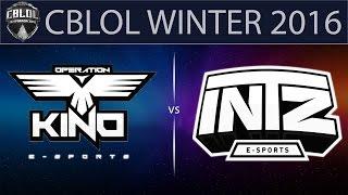 Kino vs INTZ, game 1