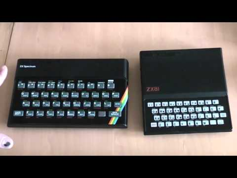 I FINALLY got a ZX Spectrum AND a ZX81