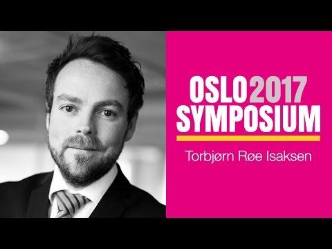 Torbjørn Røe Isaksens tale på Oslo Symposium 2017