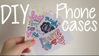 DIY Custom Phone Cases - YouTube