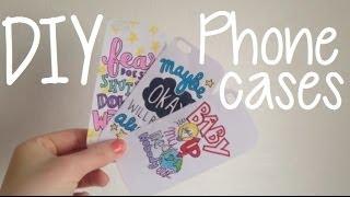 DIY Custom Phone Cases - YouTube