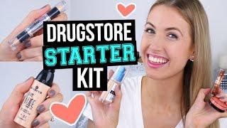 Beginner Makeup Tips & Starter Kit [NEW!]    Drugstore Faves + Intermediate Additions! by Rachhloves