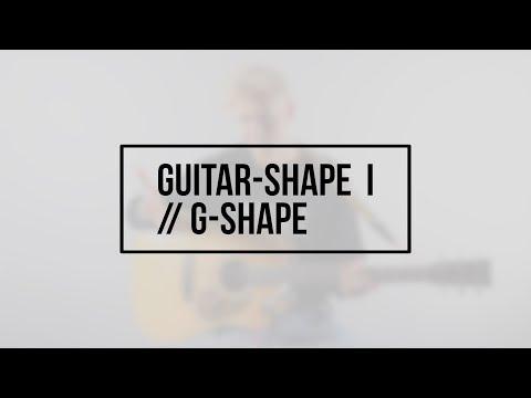 Hør Guitar-shape I // G-shape // David Kristoffersen på youtube