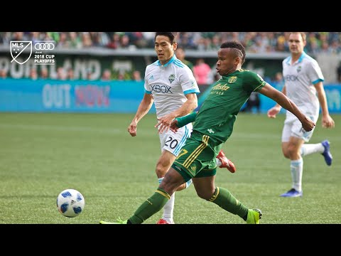 Video: Jeremy Ebobisse | Timbers 2, Sounders 1 | Audi 2018 MLS Cup Playoffs | Nov. 4, 2018