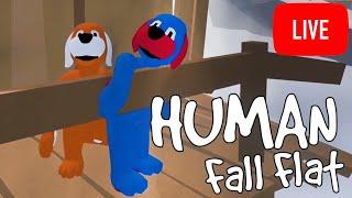 HUMAN FALL FLAT W/STAMPY - NEW LEVEL!!