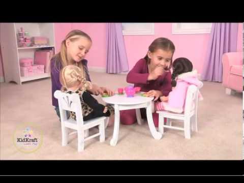 KidKraft Lil Doll Table & Chair Set 60133