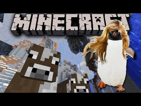 Minecraft 1.7: Amplified Survival Story - Penguin Powerhouse