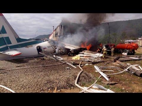 Ρωσία: Δύο νεκροί και 19 τραυματίες σε αναγκαστική προσγείωση αεροσκάφους…