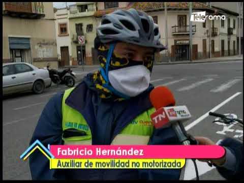 Implementan ciclovías emergentes en Cuenca