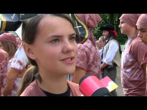TVS: Strážnice - Děti na táboře hledaly poklad
