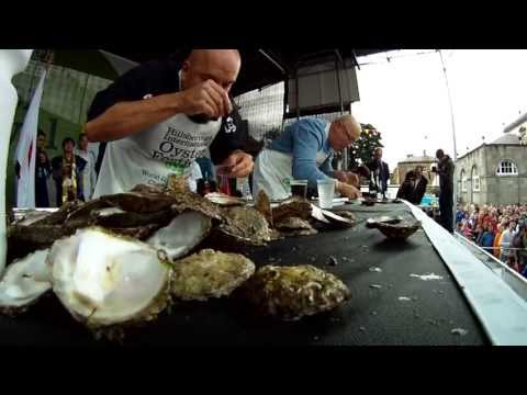 World Oyster Eating Competition 2013 - Hillsborough Oyster Festival.