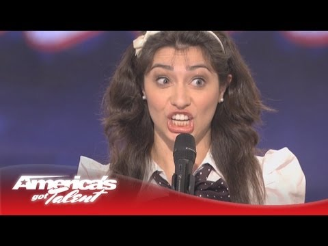 Celebrity Impressions – Melissa Villasenor – America's Got Talent Audition – Season 6