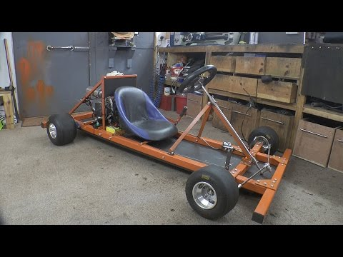 Colin Furzes Makes A Motorised Go Cart With Simple