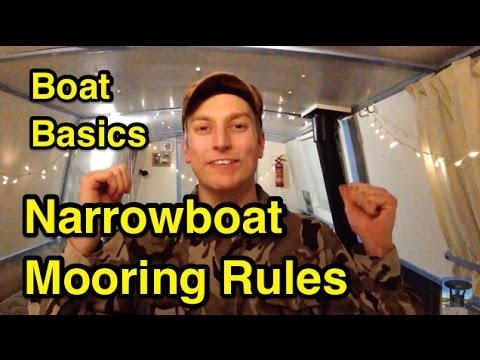 UBB: Narrowboat Mooring Rules