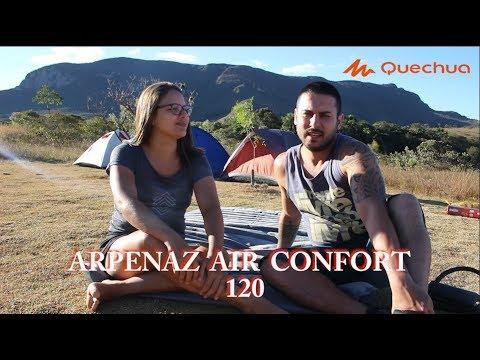 Review Quechua colchão Arpenaz Air Comfort 120