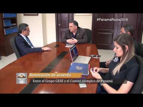 GESE renueva acuerdo con el Comité Olímpico de Panamá