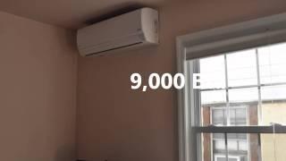 Video Installation of Fujitsu HFI AOU48RLXFZ 48,000 Btu system all house heating and cooling MP3, 3GP, MP4, WEBM, AVI, FLV Juni 2018