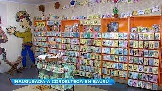Apaixonado por literatura de Cordel, adolescente inaugura em Bauru a Cordelteca