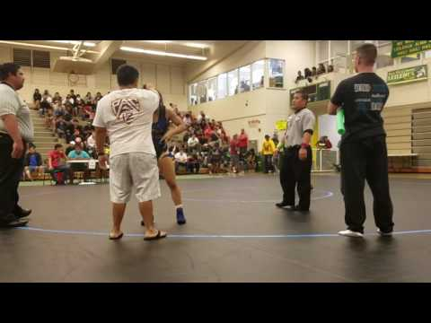 OIA Wrestling: Roosevelt's Macy Higa wins second title