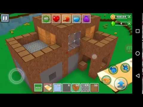 Exploration Lite Craft 'CanadaDroid' Android Gameplay #11 | Learn How To Make A Modern House |