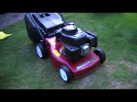 Non Running Mountfield Lawnmower Repaird! (видео)
