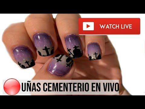 Videos de uñas -  PRIMER EN VIVO DE UñAS CEMENTERIO