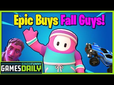 Epic Buys Fall Guys - Kinda Funny Games Daily 03.02.21