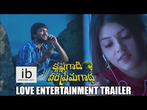 Krishnagaadi Veera Premagaadha Love Entertainment Trailer