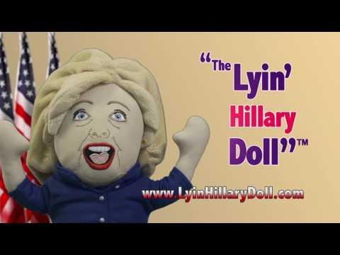 The Lyin Hillary Doll