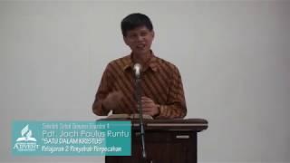 Video Sekolah Sabat Dewasa Triwulan 4 2018 Pelajaran 2 Penyebab Perpecahan - Pdt. Jach Runtu MP3, 3GP, MP4, WEBM, AVI, FLV Oktober 2018
