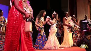 Amirah Akpan crowned Miss Teen Africa 2017