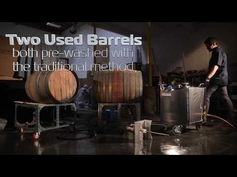 Optima Steamer Barrel Cleaning Before & After