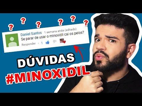 Barba - MINOXIDIL: respondendo dúvidas dos inscritos #2
