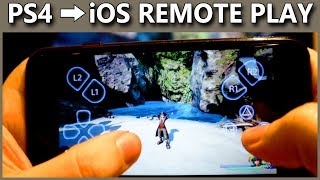 PS4 Remote Play On IOS Explained | How To Play PlayStation 4 Games On iPhone & iPad | 6.50 Update