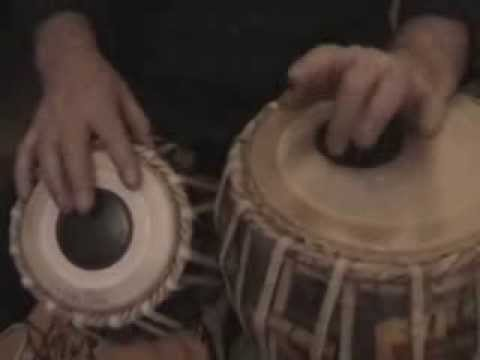 tabla gharana - This is the follow on from lesson 32 a kaida of the Punjab gharana passed to me by Ustad Alla Rakha Khan.There is 4 more variations with a chakradar finish a...