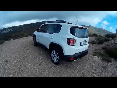 Jeep Renegade 1.4 MultiAir 4Χ4 Video -Test Drive