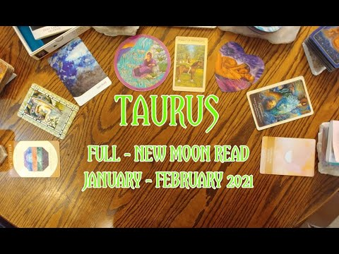 TAURUS: FULL - NEW MOON 8 CARD DRAW = A SHAPESHIFTER IN SEXUAL UNION WITH FORGIVENESS=JAN - FEB 2021