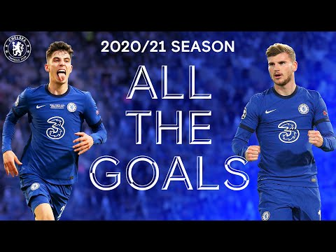 Screamers, Bicycle Kicks and Trophy-Winners 😍   All The goals: Chelsea Men 2020/21
