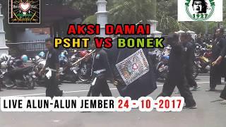 Video Aksi DAMAI PSHT VS BONEK Full Lautan Hitam live Alun-alun JEMBER - SANGAR !!! MP3, 3GP, MP4, WEBM, AVI, FLV Agustus 2018