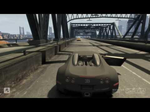 GTA IV: Bugatti mit 9999 Tonnen