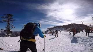 Muju-gun South Korea  City new picture : Muju Skiing, South Korea 2015
