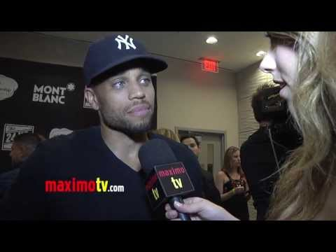 "Micheal Ealy Interview 3rd Annual ""The 24 Hour Plays In Los Angeles"" Arrivals"