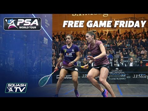 Squash: Free Game Friday - El Welily v King - Tournament of Champions 2019