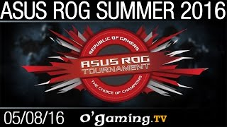 Epsilon vs Escape Gaming - ASUS ROG Summer 2016 - Group Stage